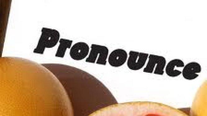 poema de pronunciación