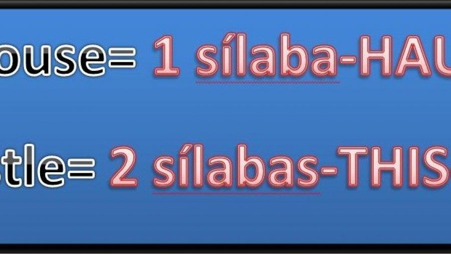 8 Trucos para separar las palabras en sílabas en Inglés
