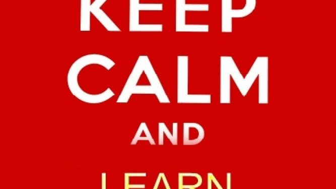 """Keep Calm and Carry on"" -Mantén la calma y continúa-"