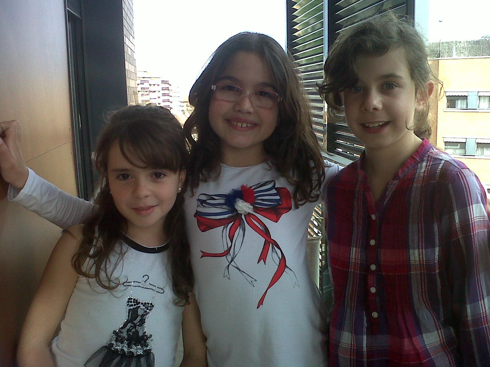 Marta, Alejandra y Noa