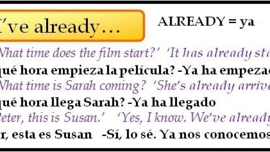 El Presente Perfecto en inglés (Part 3)-Just, already, yet, for y since