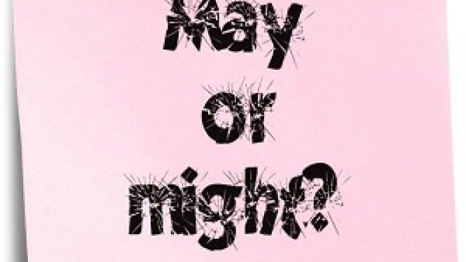 Verbos Modales: May y Might