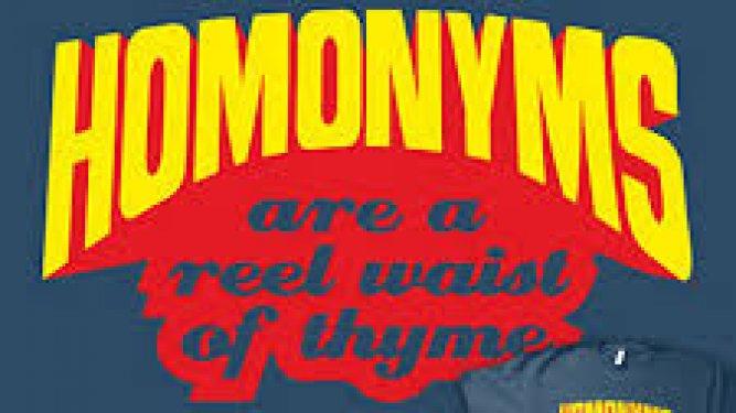 Desenredando los homónimos del inglés