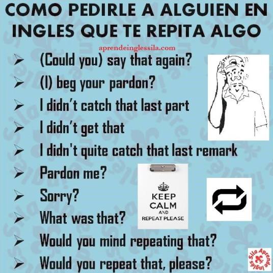 repetir inglés