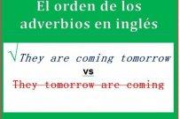 El orden de los adverbios en inglés