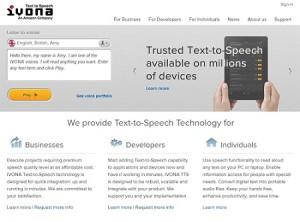 Mejorar el listening y la pronunciación en inglés con IVONA Imagen