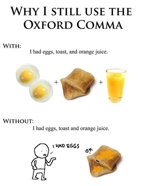 oxford comma
