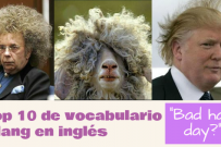 Top 10 de vocabulario slang en inglés