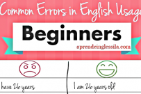 Common Errors in English -BEGINNERS-