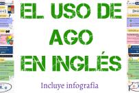 El uso de AGO en inglés (incluye infografía)