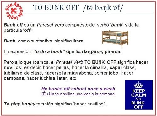 bunk off