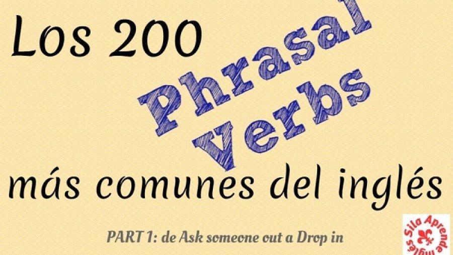 Phrasal verbs inglés